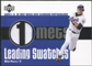 2003 Upper Deck Leading Swatches #MP1 Mike Piazza SLG Jersey