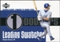 2003 Upper Deck Leading Swatches Jersey #SG Shawn Green HR