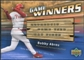 2004 Upper Deck Game Winners Bat #BA Bobby Abreu