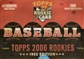 2006 Topps Rookies - 1952 Edition Baseball Hobby Box