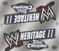 2007 Topps WWE Heritage II Chrome Wrestling Hobby Box