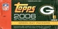 2006 Topps Football Factory Set (Box) (Green Bay Packers)