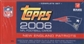 2006 Topps Football Factory Set (Box) (New England Patriots)