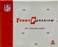 2006 Topps Paradigm Football Hobby Box
