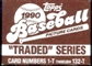 1990 Topps Traded & Rookies Baseball Factory Set (3 Set Lot)