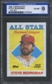 1988 Topps Cloth Baseball Steve Bedrosian ISA 6 (EX-MT) *3049 (Test Set)