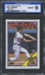1988 Topps Cloth Baseball Joel Skinner ISA 8 (NM-MT) *3060 (Test Set)