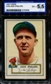 1952 Topps Baseball #240 Jack Phillips ISA 5.5 (EX+) *0638