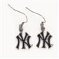 Wincraft New York Yankees Earring w/Jewelry Card