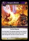 WoW Fires of Outland Single Dragon's Breath (FoO-039) NM/MT