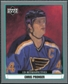 2002/03 Upper Deck UD Artistic Impressions Retrospectives Silver #R76 Chris Pronger /99