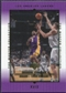 2000 Upper Deck Lakers Master Collection #17 Derek Fisher /300
