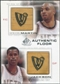 2000/01 Upper Deck SP Game Floor Authentic Floor Combos #C10 Kenyon Martin Stephen Jackson