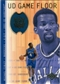 2001/02 Upper Deck Hardcourt UD Game Floor #MF Michael Finley