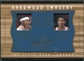 2001/02 Upper Deck Inspirations Hardwood Imagery Combo #RW/SP Scottie Pippen Rasheed Wallace