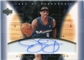 2003/04 Upper Deck Hardcourt Clear Commemoratives Autographs #JDA Juan Dixon