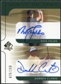 2003 Upper Deck SP Authentic Sign of the Times Dual #NFDC Nick Faldo Darren Clarke Autograph /150