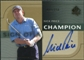 2003 Upper Deck SP Authentic Sign of a Champion #NP Nick Price Autograph /250