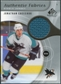 2005/06 Upper Deck SP Game Used Authentic Fabrics #AFJC Jonathan Cheechoo