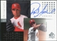 2000 Upper Deck SP Authentic Chirography #RA Rick Ankiel Autograph