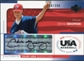 2004 Upper Deck USA Baseball 25th Anniversary Signatures Black Ink #GEO Chris George Autograph /360