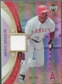 2005 Upper Deck Artifacts MLB Apparel Rainbow #GA Garret Anderson Jersey /99