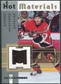 2005/06 Fleer Hot Prospects Hot Materials #HMAM Andrej Meszaros