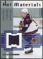 2005/06 Fleer Hot Prospects Hot Materials #HMBC Braydon Coburn