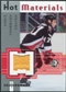 2005/06 Fleer Hot Prospects Hot Materials #HMCT Chris Thorburn