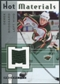 2005/06 Fleer Hot Prospects Hot Materials #HMDB Derek Boogaard