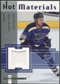 2005/06 Fleer Hot Prospects Hot Materials #HMJW Jeff Woywitka