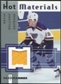 2005/06 Fleer Hot Prospects Hot Materials #HMKD Kevin Dallman