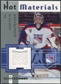 2005/06 Fleer Hot Prospects Hot Materials #HMMO Al Montoya