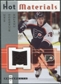 2005/06 Fleer Hot Prospects Hot Materials #HMMR Mike Richards