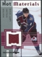 2005/06 Fleer Hot Prospects Hot Materials #HMWW Wojtek Wolski