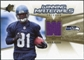 2006 Upper Deck SPx Winning Materials #WMVNB Nate Burleson