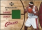 2006/07 Upper Deck Hardcourt Game Floor #20 LeBron James