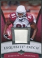 2006 Upper Deck Exquisite Collection Patch Silver #EPAB Anquan Boldin /50