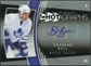 2006/07 Upper Deck Hot Prospects Hotagraphs #HBB Brendan Bell Autograph