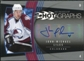 2006/07 Upper Deck Hot Prospects Hotagraphs #HJL John-Michael Liles Autograph