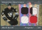 2006/07 Upper Deck Ultimate Collection Premium Swatches #PSMR Mark Recchi /50