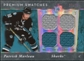 2006/07 Upper Deck Ultimate Collection Premium Swatches #PSPM Patrick Marleau /50