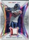 2007 Upper Deck Trilogy Sunday Best Jersey Patch #AJ Andre Johnson /79