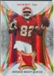 2007 Upper Deck Trilogy Sunday Best Jersey Patch Hologold #DB Dwayne Bowe /33