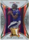 2007 Upper Deck Trilogy Sunday Best Jersey Patch Hologold #TS Troy Smith /33
