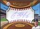 2007 Upper Deck Sweet Spot Signatures Red Stitch Blue Ink #CB Chad Billingsley Autograph /299