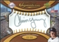 2007 Upper Deck Sweet Spot Signatures Gold Stitch Gold Ink #CY Chris Young Autograph /99