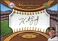 2007 Upper Deck Sweet Spot Signatures Gold Stitch Gold Ink #KS Kurt Suzuki Autograph /99