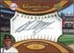 2007 Upper Deck Sweet Spot Signatures Silver Stitch Silver Ink #MM Melvin Mora Autograph 4/6