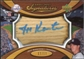 2007 Upper Deck Sweet Spot Signatures Bat Barrel Blue Ink #KA Jeff Karstens Autograph /17
